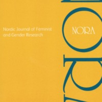 NORA: Nordic Journal of Feminist and Gender Research, vol. 27, no. 3, 2019
