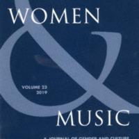 Women & Music, vol. 23, 2019